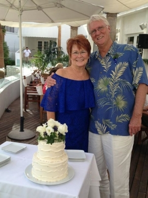 Phaeton Raeanna Taylor and Jim Stead (S'63) got married in in Arizona. April 2013