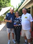 Bill, wife Elaine, and Mike