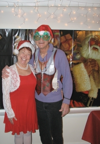 'Wore my Phaeton class sweater to a family Ugly Sweater Contest last December (2011). As bad as it was, I still came in