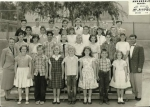 Annandale Elementary School. Mr. Shambra's 5th Grade Class. May 1955. Photo courtesy of Kathy (Johnson) Friend. Fro