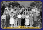 Buchanan Street School. Mrs. Sherbing's A5 and B6 classes. April 1955. Photo courtesy of Art Couvillon.